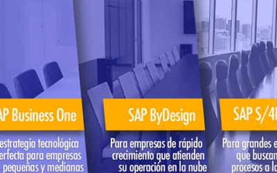 Cómo seleccionar el ERP SAP más apropiado para tu empresa